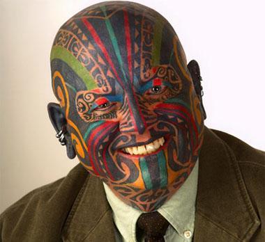 Autors: Edgarinshs Neparastākie pasaules tetovējumi