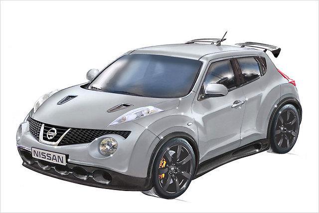 Autors: HHRonis Nissan sakrusto Juke ar GT-R.