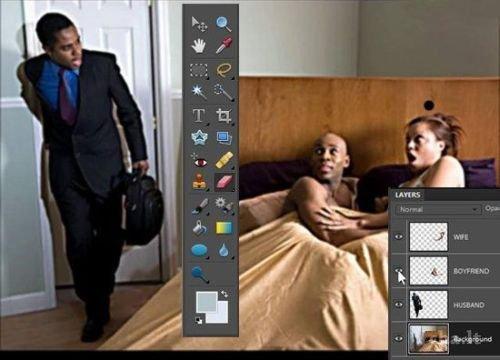 Autors: Es esu sēne Photoshop in real life