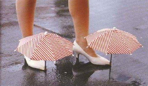 Kurpju lietussargi Autors: oXid Interesantie izgudrojumi