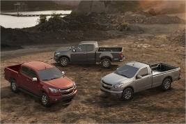 Autors: HHRonis Chevrolet prezentē jauno pikapu Colorado.