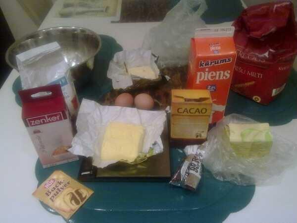Vajagdivas olas220 grami... Autors: polar bear Šokolādes mafini