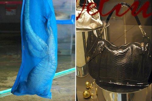 Autors: Asiņainā Mērija Čūskādas somiņas taisīšana.