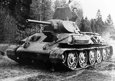 Krievu T34 Autors: Bucitis1 2.P.K vācu un krievu tanku salīdzinājums (1.daļa)
