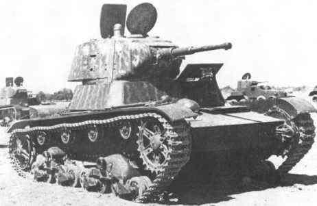 Krievu T26 Autors: Bucitis1 2.P.K vācu un krievu tanku salīdzinājums (1.daļa)