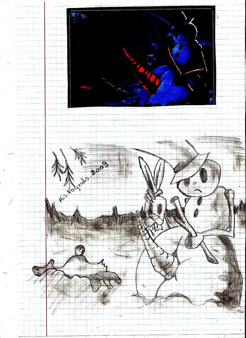 šī nav mana ideja kā jau tas... Autors: MisPagrabs Mani zīmējumi... daži...