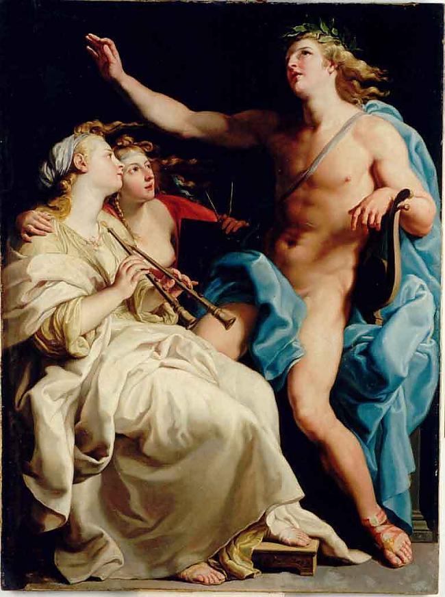 ApollonsApollons ir mūzikas... Autors: wyatt Olimpa dievi.