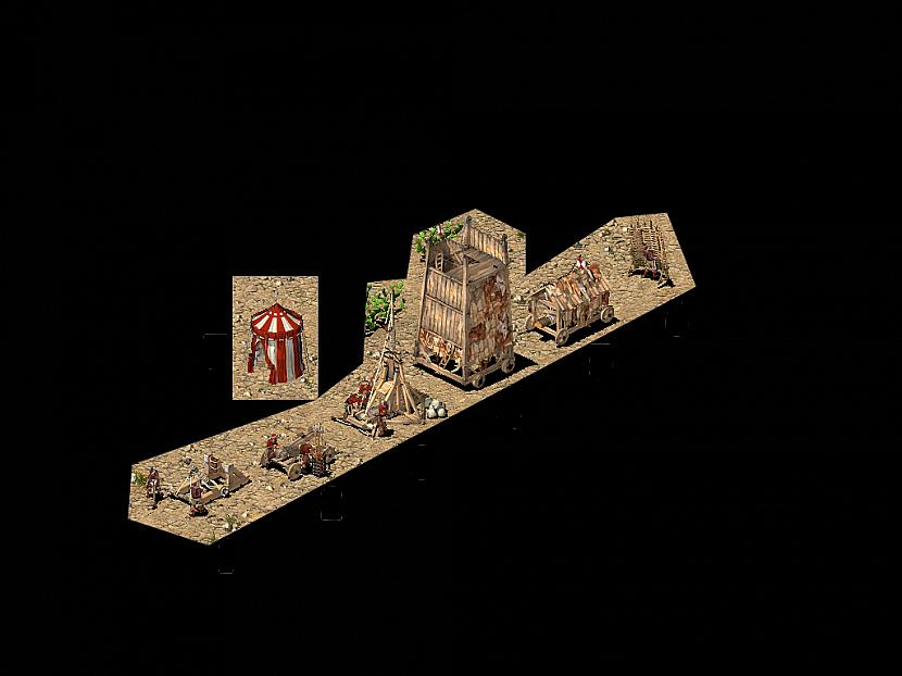 Katapultas un ielenkuma... Autors: Falc0n Stronghold Crusader 2. daļa