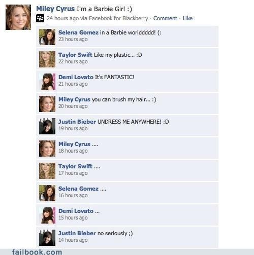 Favorīts Autors: mincīte Facebook status fail.