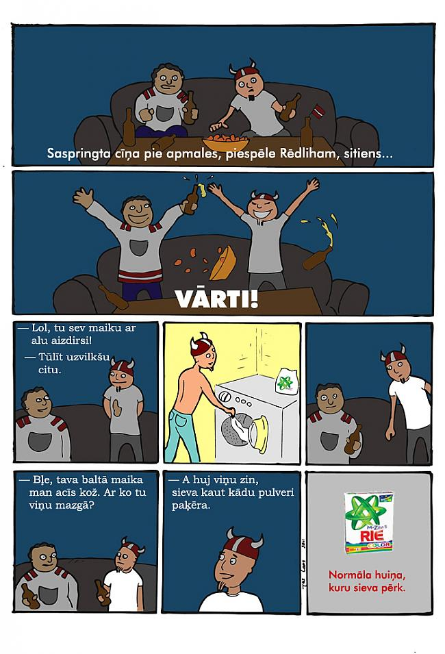 Autors: NaOH Komiksi labākai nedēļai