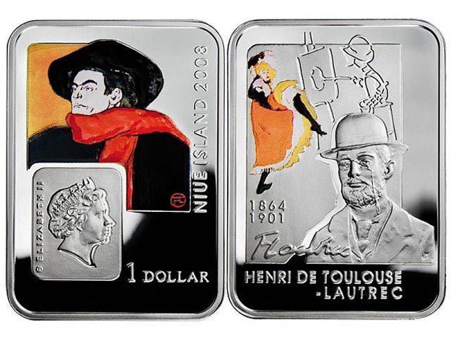 Niue 2008 1 dolārs Autors: iDIE 18 neparastākās monētas pasaulē.