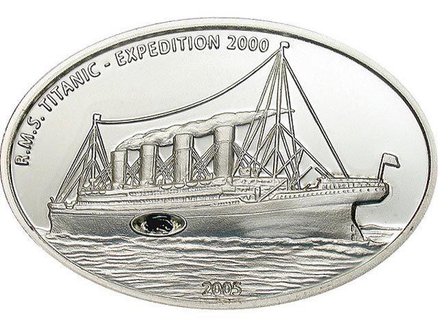 Libērija 2005 10 dolāri Autors: iDIE 18 neparastākās monētas pasaulē.