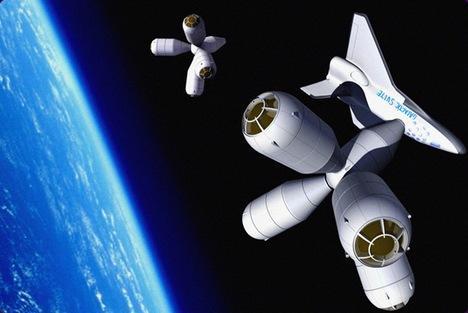Scaronis kosmosa hotelis ir... Autors: Cancer69 Brīvdienas kosmosā!