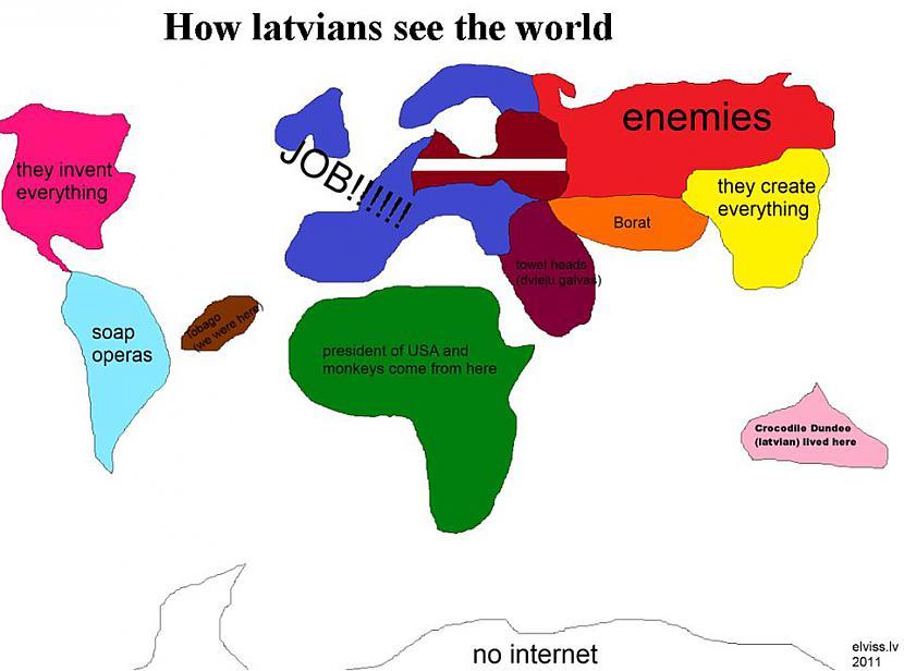 Autors: lollipoopzz Kā Latvija redz pasauli?