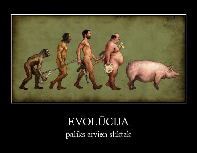 Autors: mazpunkte evolūcija