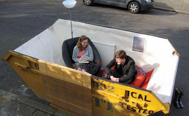 Kā istabu vai iztabu nezinu... Autors: Nokia 3310 Ko var izdarīt ar atkritumu konteineru