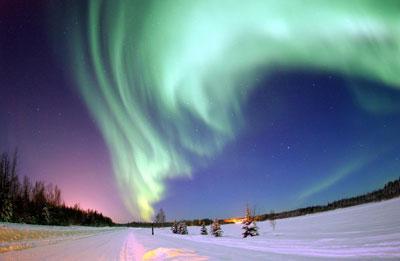 Ziemeļblāzma Jums visiem... Autors: YogSothoth 10 neparastas dabas parādības