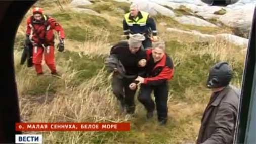 Arhangeļskas iedzīvotājs... Autors: pofig Uz vientuļas salas atrod vīrieti