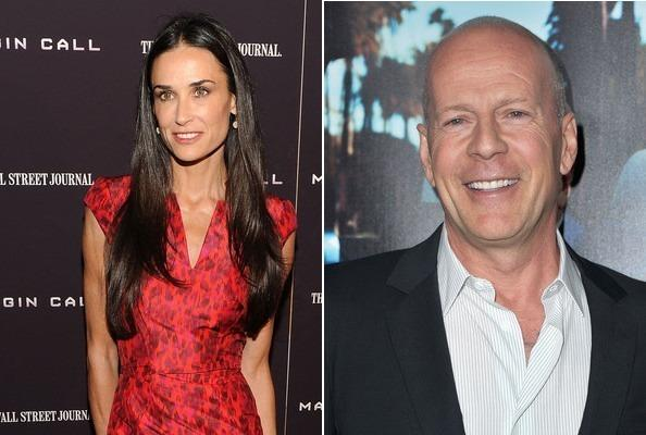 Demi Moore and Bruce Willis Autors: bee62 Celebrities Who Got Married in Vegas