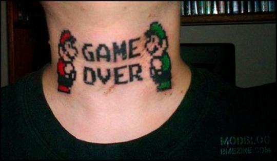 Autors: Edžiņšnmnmnj Trakie videospelu tetovejumi .