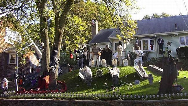 Parasti greba baisu vai... Autors: quencher Ļoti kreatīvas Helovīnu māju dekorācijas