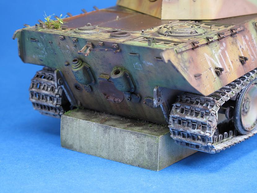 Autors: ecefec Diorama with german tank