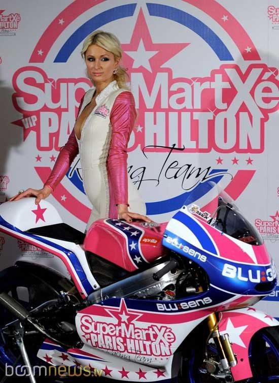 Autors: ForeverAlone Parisa Hiltone kļuvusi par sacīkšu braucēju ?