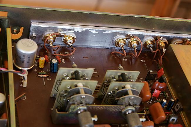 izejas vecie din štekeri... Autors: BLACK ALIGATOR Radiotehnika УП-001 upgrade...