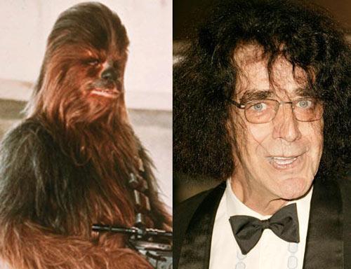 Peter Mayhew Chewbacca Autors: Edgarinshs Star-wars aktieri pēc 30 gadiem