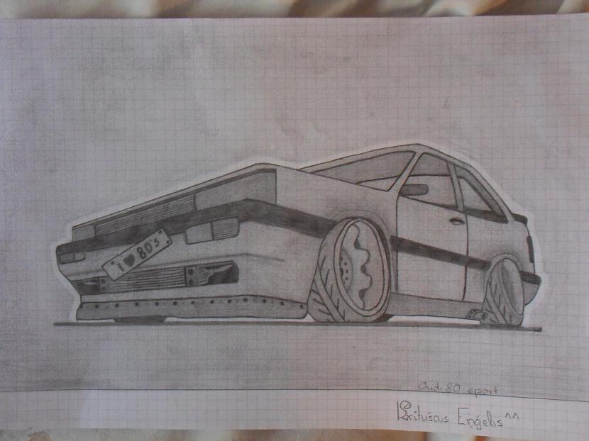 Audi 80 Autors: Gerkhan Zīmējumi