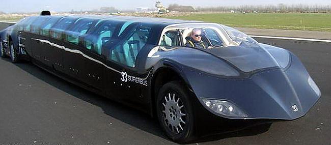 Dizaina izstrādē savu roku... Autors: maxxims Super-bus, traucas ar 250 kilometru ātrumu stundā.