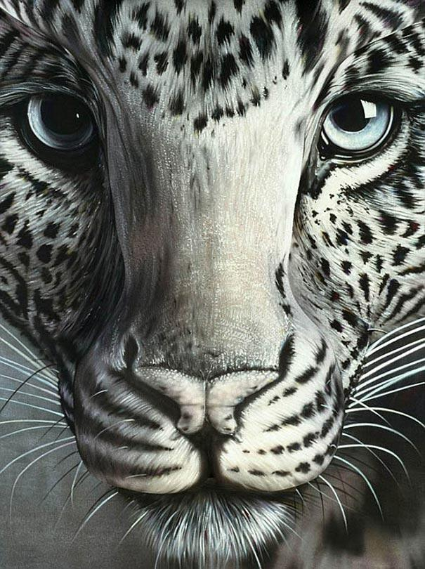 Leopards Autors: Fosilija Body art!