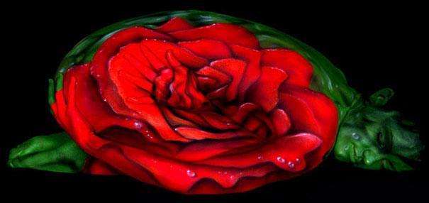 Roze Autors: Fosilija Body art!