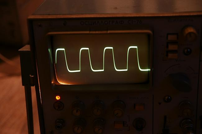 Taisnstūris uz 20Khz Autors: BLACK ALIGATOR Jaudas pastiprinātājs izmantojot mikroshēmu OPA 549...