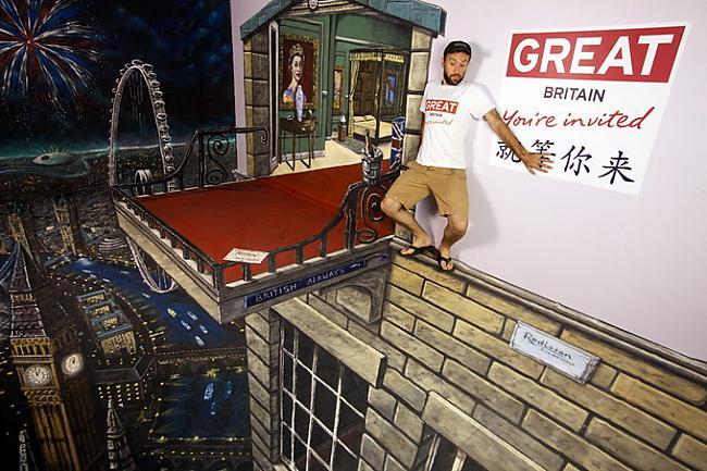 Turpinājumā citi 3D Joe and... Autors: Administrācija 3D mākslas darbi uz ielas