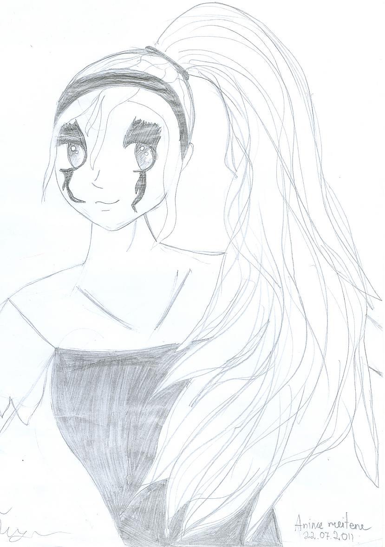 Pirmais anime zīmējums D Autors: paulliiinn Mani zīmējumi