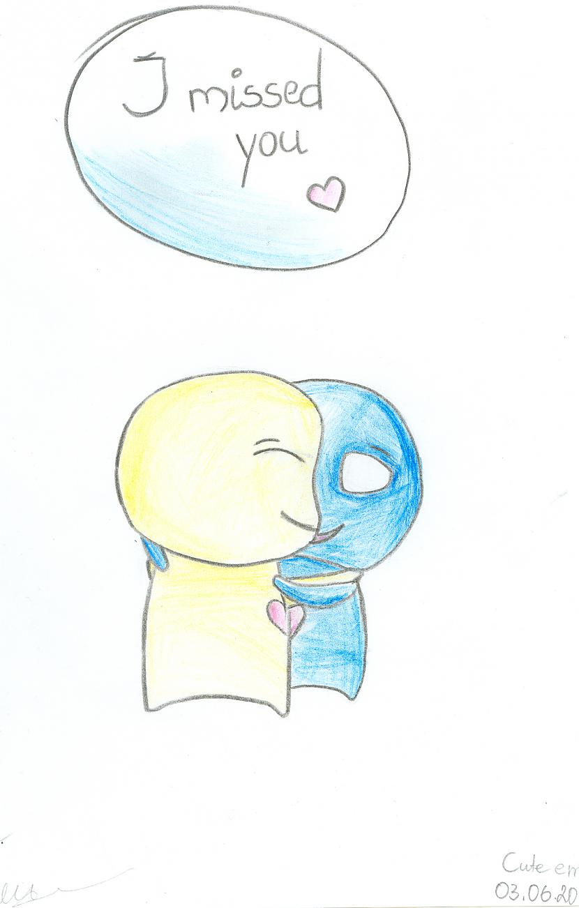 Cute Emo Autors: paulliiinn Mani zīmējumi