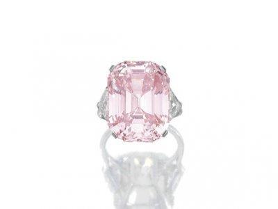 1  Izsmalcināts rozā 4500... Autors: ShaGie Top 8 dārgākās izsolē pārdotās rotaslietas!!!