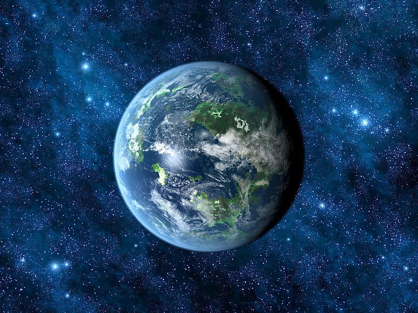 Kepler 22b atrodas 600 gaismas... Autors: Colonel Meow NASA apstiprina pirmo planētu apdzīvojamā zonā.