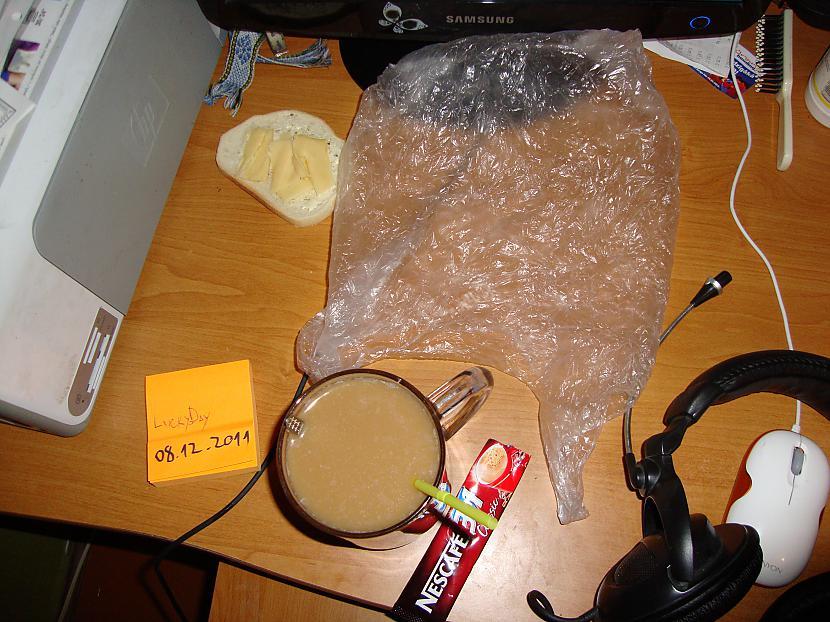 Autors: LuckyDay 3 in 1 kafija, maisiņš, datums