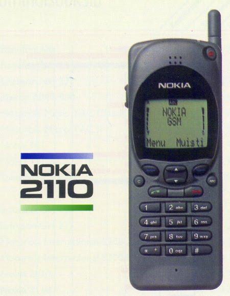 nbsp1994 gads  Nokia 2110... Autors: PlayampPause Nokia produkti, kas izmainija pasauli.