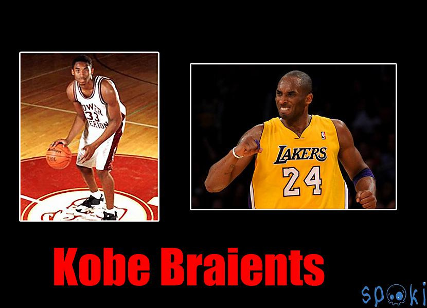 nbspKobe Bīns BraientsnbspKobe... Autors: kruuz Basketbolisti tad un tagad ( NBA )