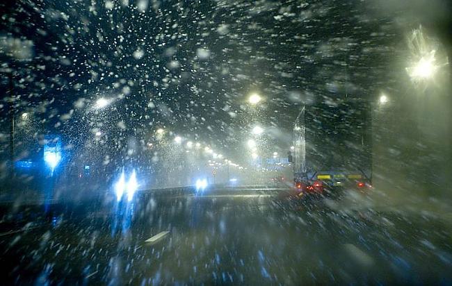 tā pašlaik izskatās Zviedrijā... Autors: ghost07 Latvijai tuvojas sniegavētra