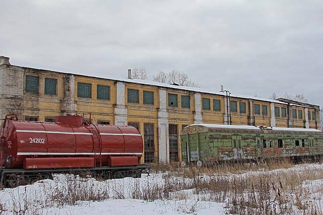 Vilciens ugunsgrēka gadījumā Autors: ShakeYourBody Pamestais vilcienu depo