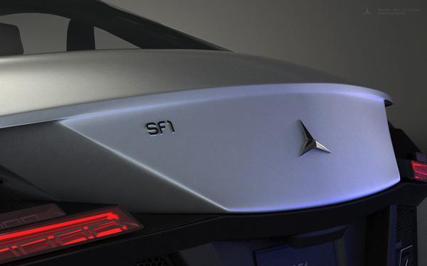 Autors: Violetais Mercedes Benz SF1 koncepts