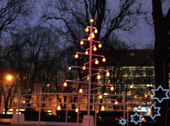 Vērmanes dārzā atrodamas... Autors: ghost07 Ziemassvētki Rīgas ielās