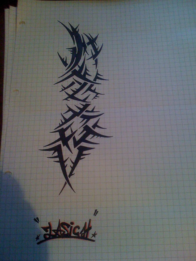 Some tribal Autors: ZaSiCh Some my drawing