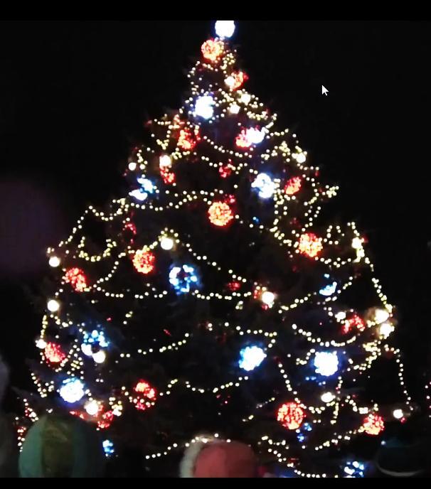 Autors: johny Ziemassvētku eglītes atklāšanas ceremonija Daugavpilī
