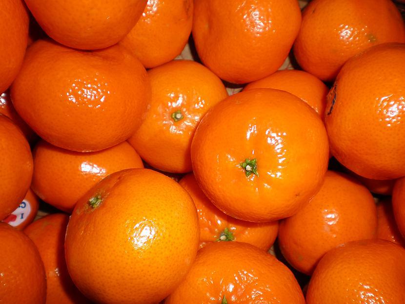 Visiem taču garšo mandariini... Autors: Fosilija Labās lietas ziemā!