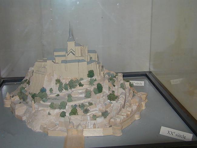 Šādi sala izskatās kopš 20 gs Autors: Fosilija Mont St. Michel